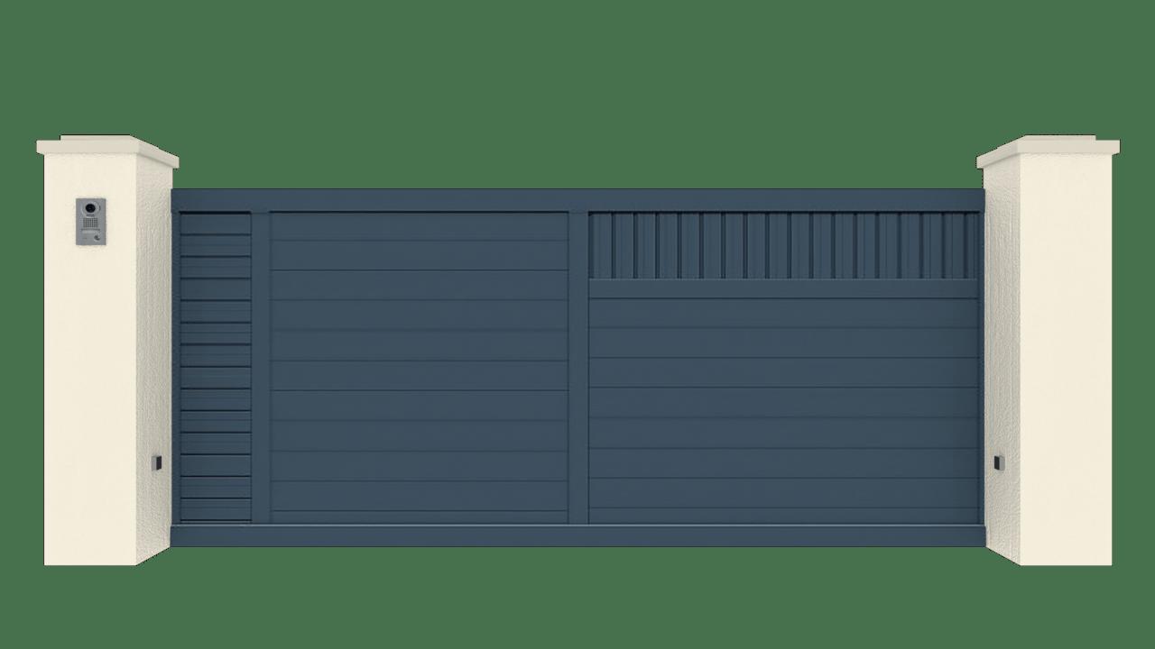 Portail Coulissant Gamme Tradition Modèle Intimité 6