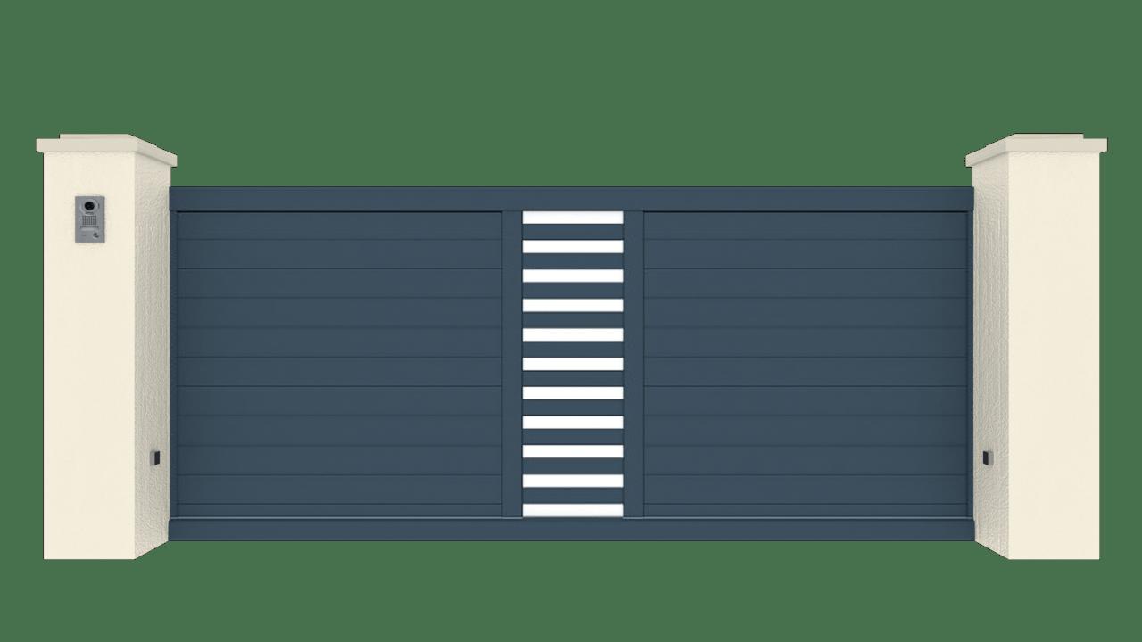 Portail Coulissant Gamme Tradition Modèle Passion 3