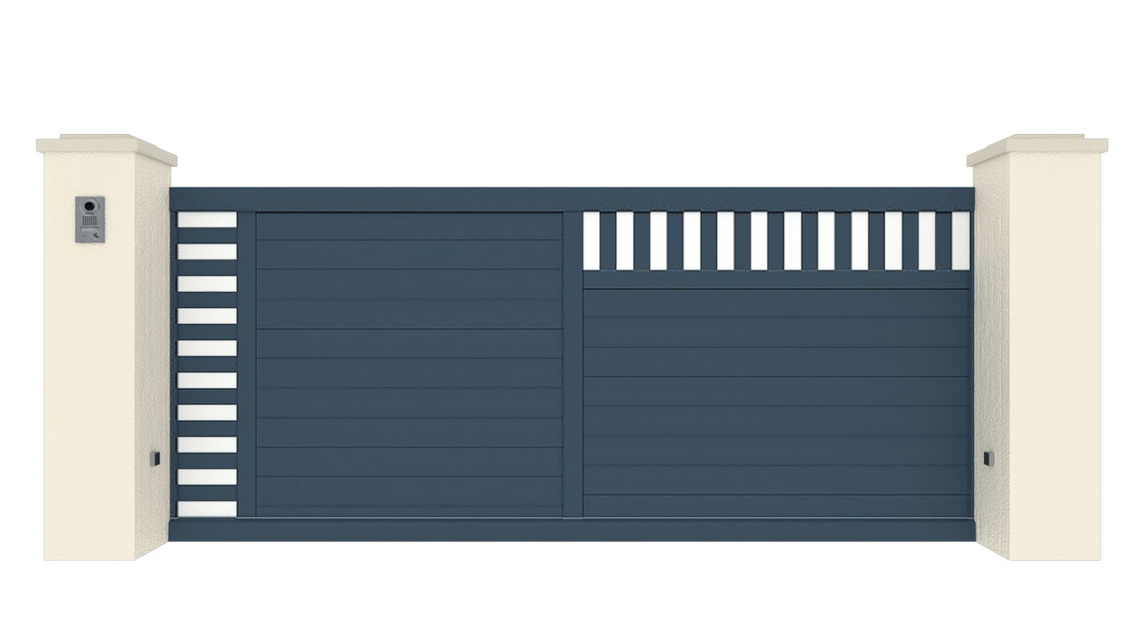 Portail Coulissant Gamme Tradition Modèle Passion 5