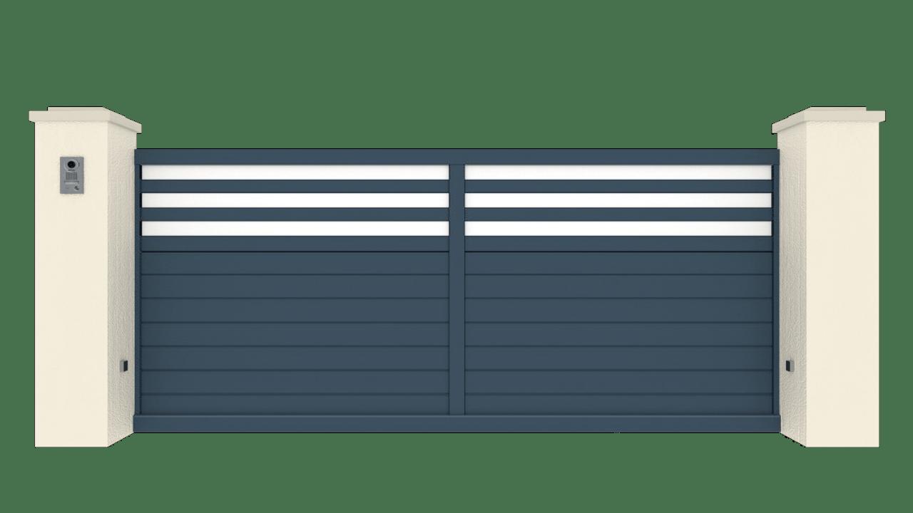 Portail Coulissant Gamme Tradition Modèle Fidélité 3