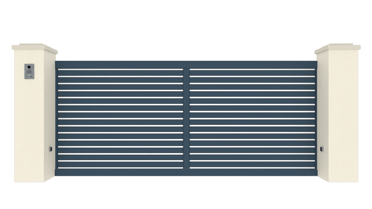 Portail Coulissant Gamme Tradition Modèle Fidélité 5