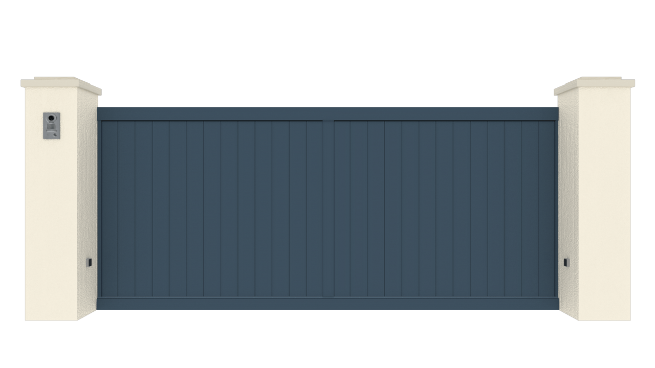Portail Coulissant Gamme Tradition Modèle Sérénité 2