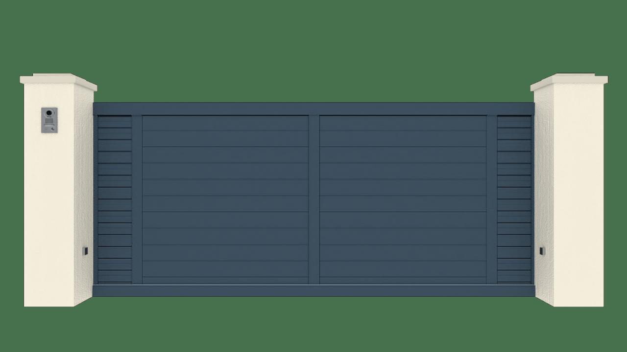 Portail Coulissant Gamme Tradition Modèle Intimité 4