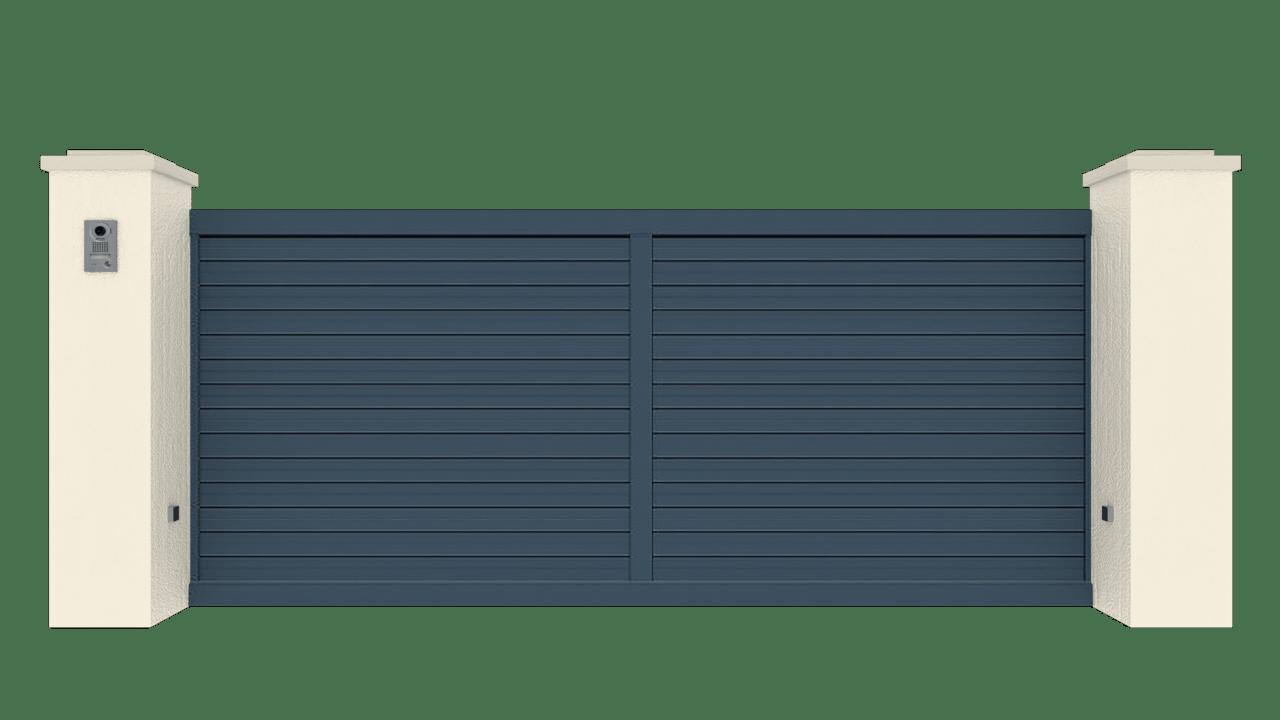 Portail Coulissant Gamme Tradition Modèle Intimité 1