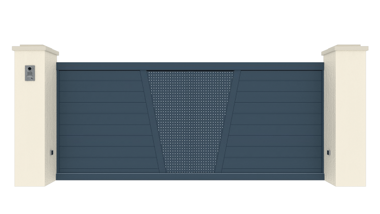 Portail Coulissant Gamme Tradition Modèle Création 3