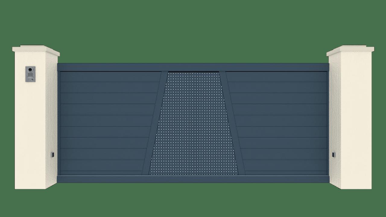 Portail Coulissant Gamme Tradition Modèle Création 4