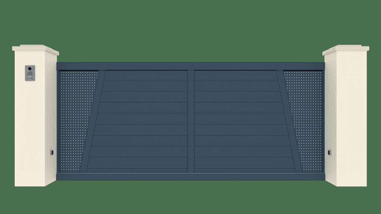 Portail Coulissant Gamme Tradition Modèle Création 5