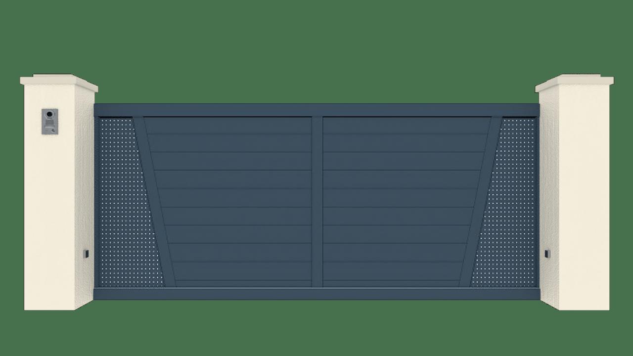 Portail Coulissant Gamme Tradition Modèle Création 6